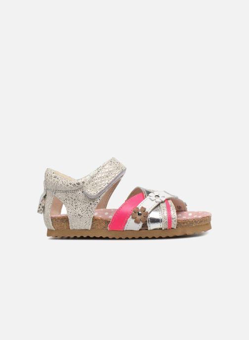 Sandalen Shoesme Sixte silber ansicht von hinten
