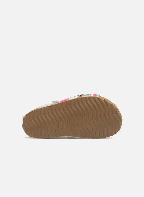 Sandalen Shoesme Sixte silber ansicht von oben