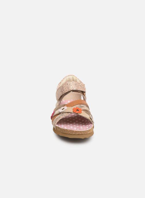 Sandales et nu-pieds Shoesme Sixte Beige vue portées chaussures