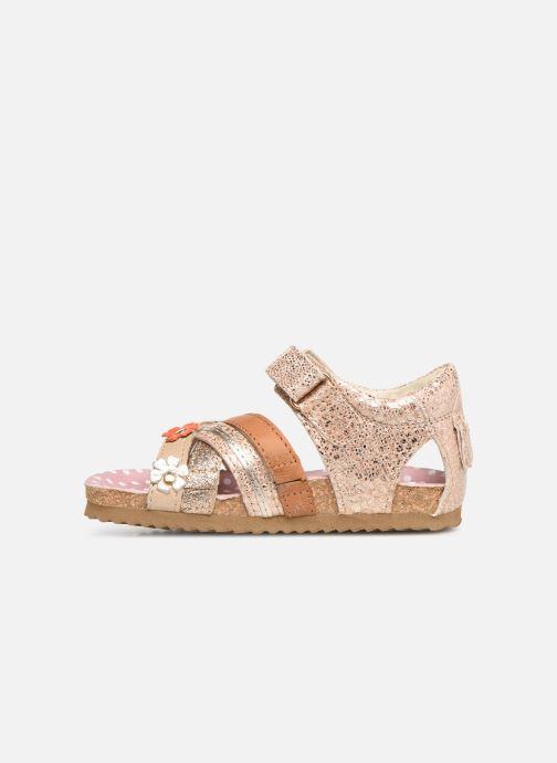 Sandales et nu-pieds Shoesme Sixte Beige vue face