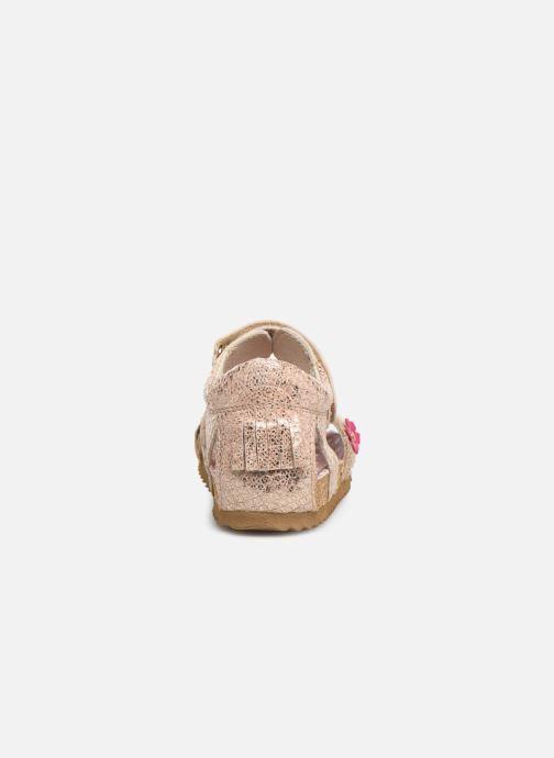Sandales et nu-pieds Shoesme Sixte Beige vue droite