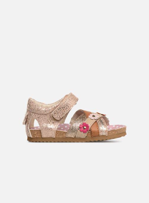 Sandales et nu-pieds Shoesme Sixte Beige vue derrière