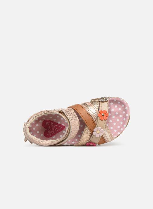 Sandales et nu-pieds Shoesme Sixte Beige vue gauche