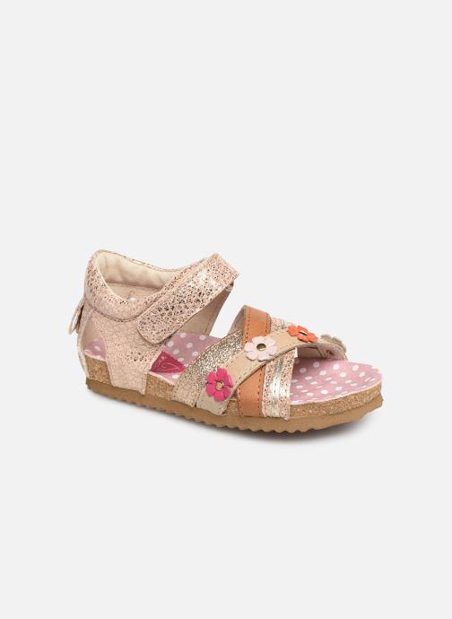 Sandales et nu-pieds Shoesme Sixte Beige vue détail/paire