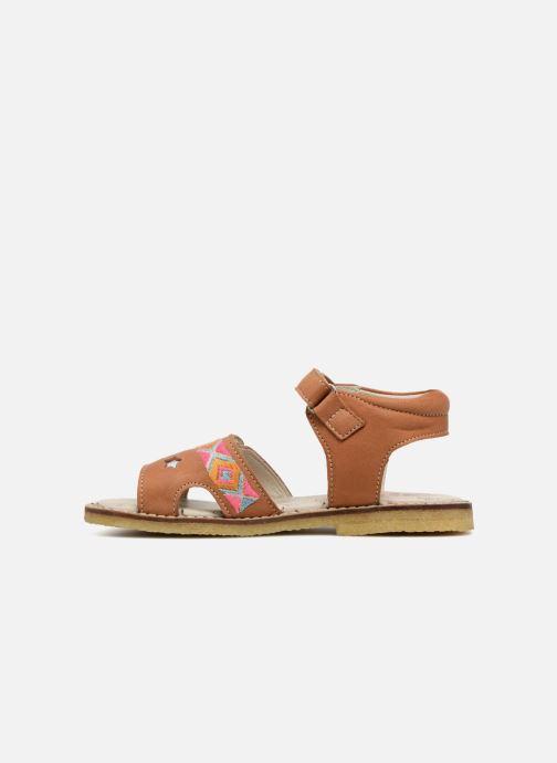 Sandales et nu-pieds Shoesme Soline Marron vue face