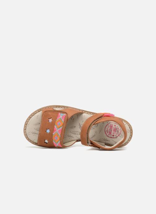 Sandales et nu-pieds Shoesme Soline Marron vue gauche