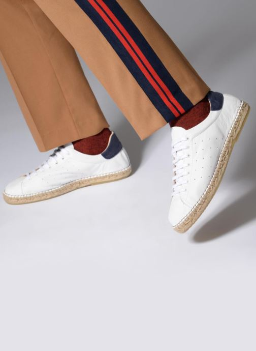 Espadrilles Mr SARENZA Ispadrille White view from underneath / model view