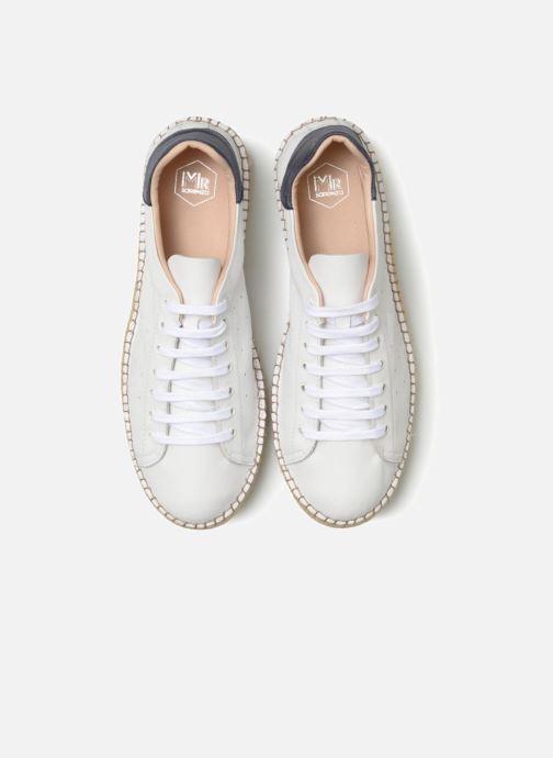 Espadrilles Mr SARENZA Ispadrille Blanc vue portées chaussures