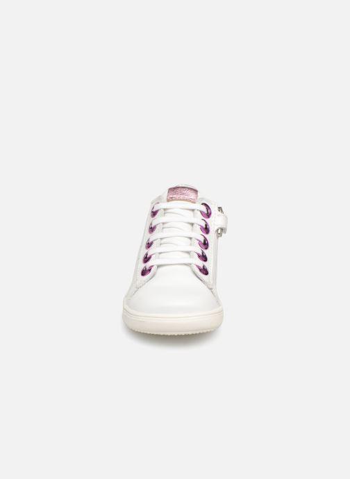 Baskets Little Mary Dorothe Blanc vue portées chaussures