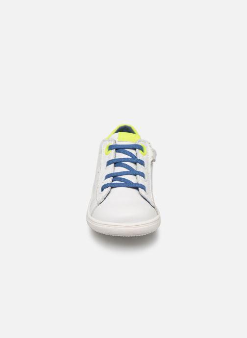 Baskets Little Mary Dustin Blanc vue portées chaussures