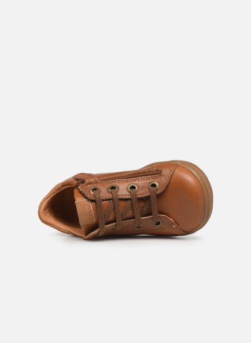 Sneaker Little Mary Dustin braun ansicht von links