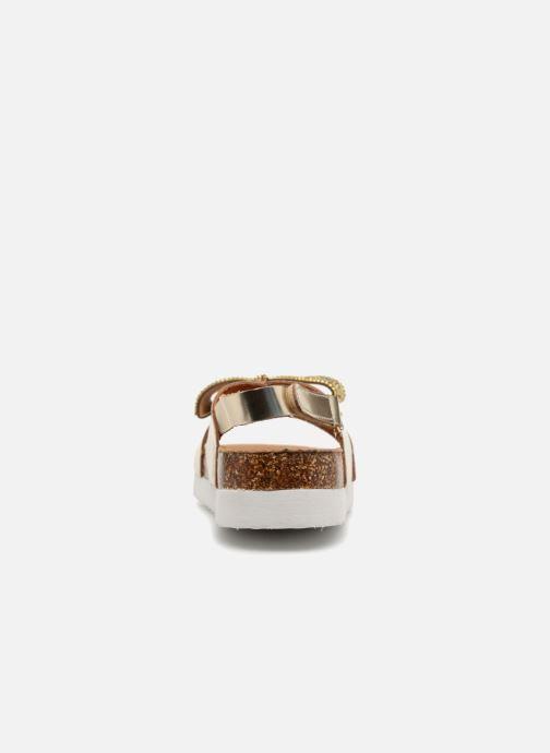 Sandalias Colors of California Bio Fashion Sandals Oro y bronce vista lateral derecha