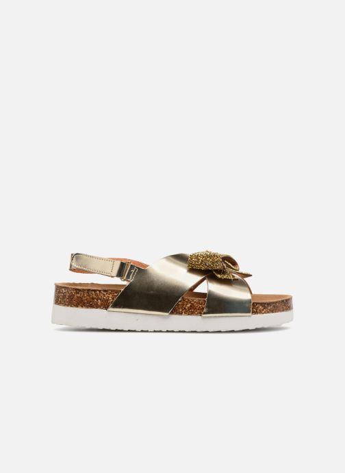 Sandalias Colors of California Bio Fashion Sandals Oro y bronce vistra trasera