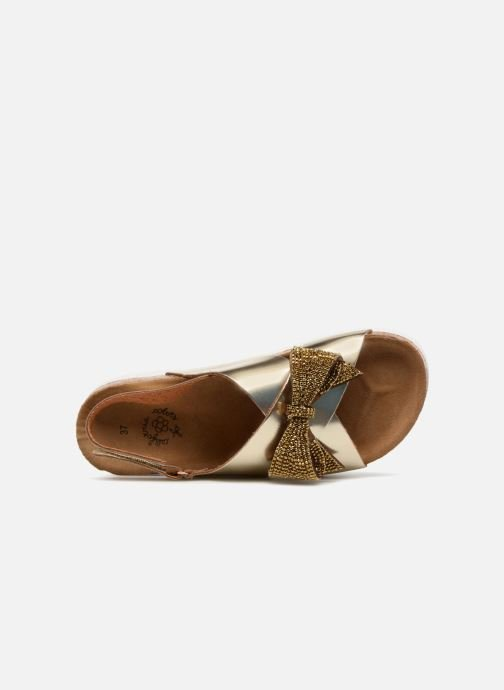 Sandales et nu-pieds Colors of California Bio Fashion Sandals Or et bronze vue gauche