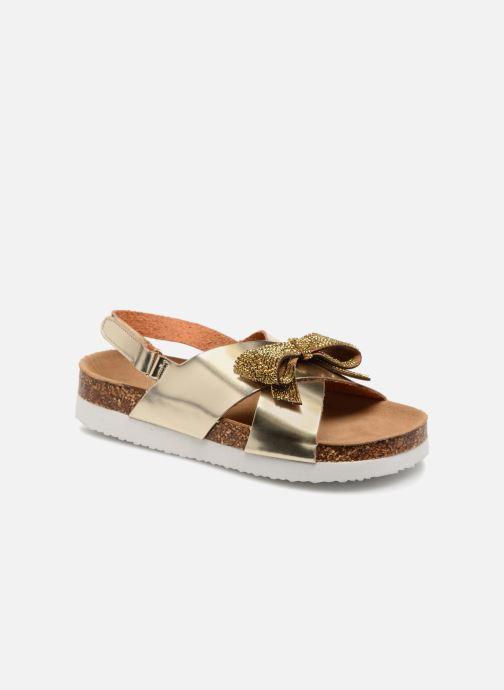 Sandalias Colors of California Bio Fashion Sandals Oro y bronce vista de detalle / par