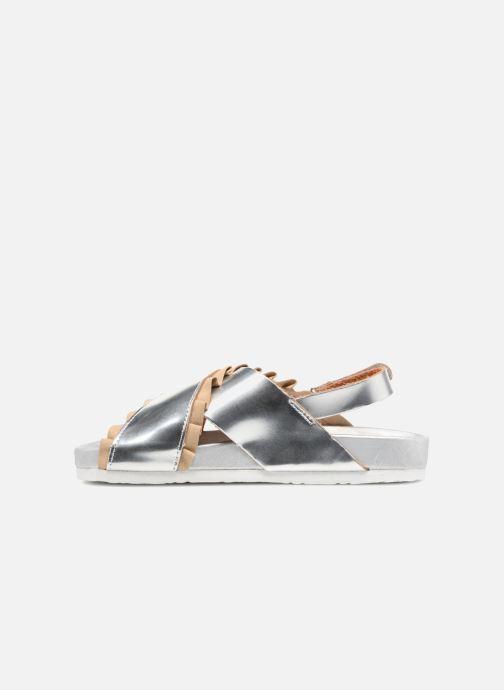 Sandali e scarpe aperte Colors of California Bio Fashion Sandals 2 Argento immagine frontale