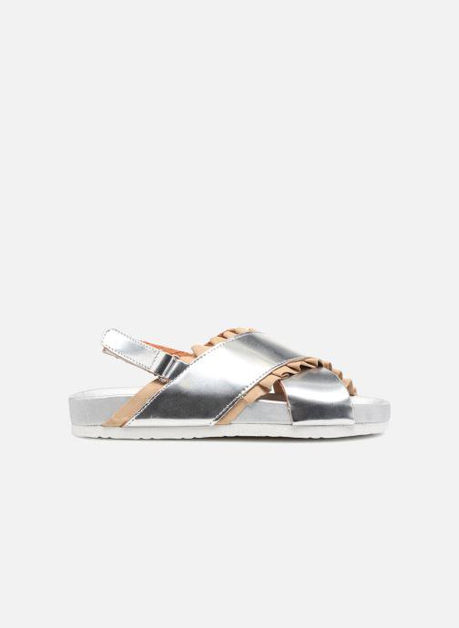 Sandales et nu-pieds Colors of California Bio Fashion Sandals 2 Argent vue derrière
