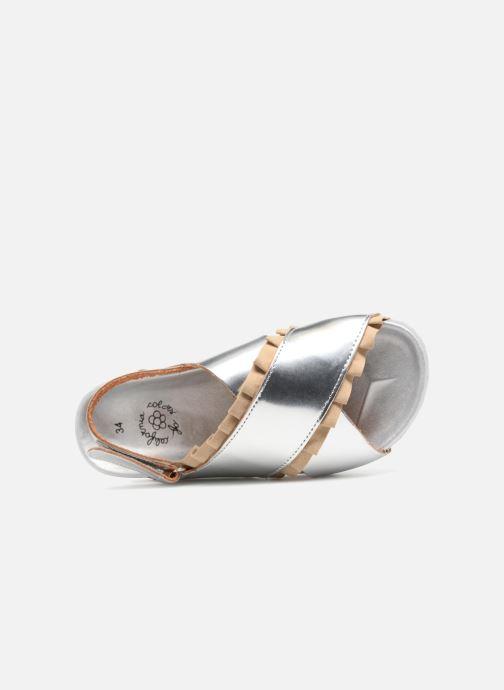 Sandales et nu-pieds Colors of California Bio Fashion Sandals 2 Argent vue gauche