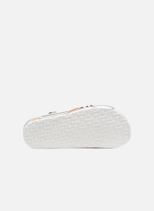 Sandales et nu-pieds Colors of California Bio Fashion Sandals 2 Argent vue haut