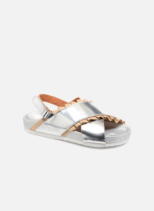 Sandales et nu-pieds Colors of California Bio Fashion Sandals 2 Argent vue détail/paire