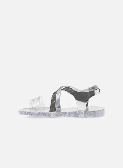 Sandales et nu-pieds Colors of California Fashion Jellies Argent vue face