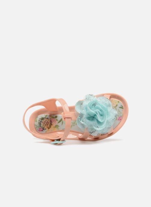 Sandalias Colors of California Fashion Jellies 2 Rosa vista lateral izquierda