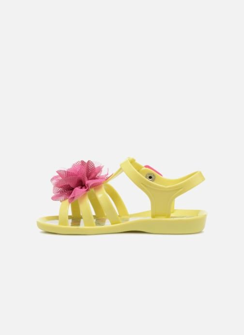 Sandals Colors of California Fashion Jellies 2 Yellow front view