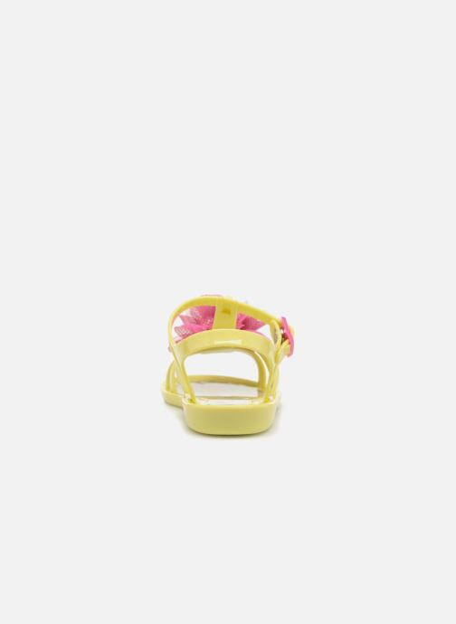 Sandals Colors of California Fashion Jellies 2 Yellow view from the right