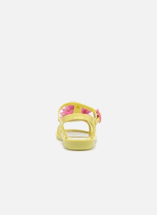 Sandalias Colors of California Fashion Jellies 2 Amarillo vista lateral derecha