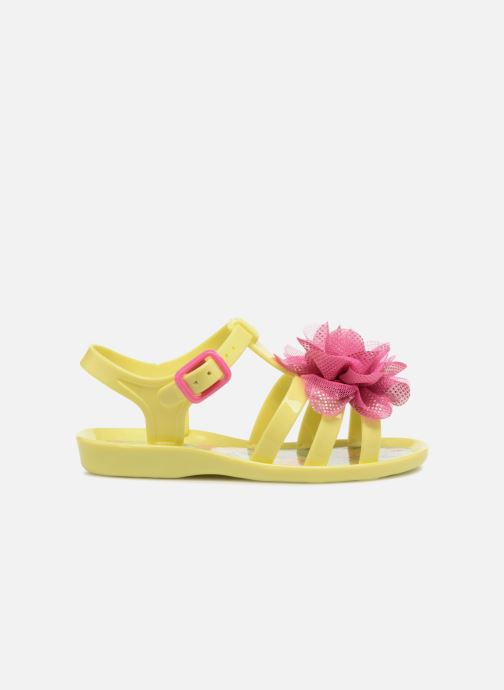 Sandals Colors of California Fashion Jellies 2 Yellow back view