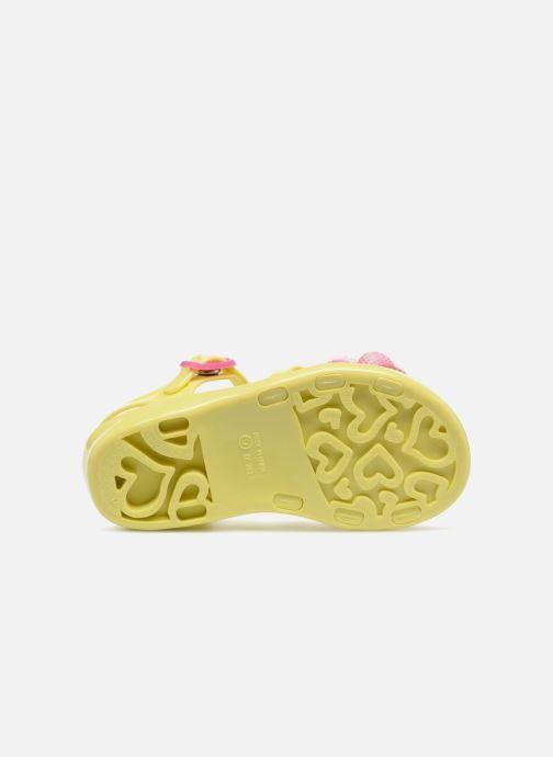 Sandales et nu-pieds Colors of California Fashion Jellies 2 Jaune vue haut
