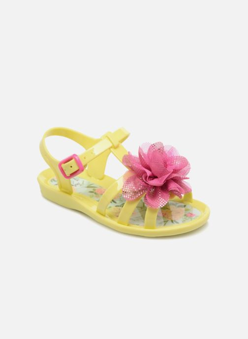 Sandals Colors of California Fashion Jellies 2 Yellow detailed view/ Pair view