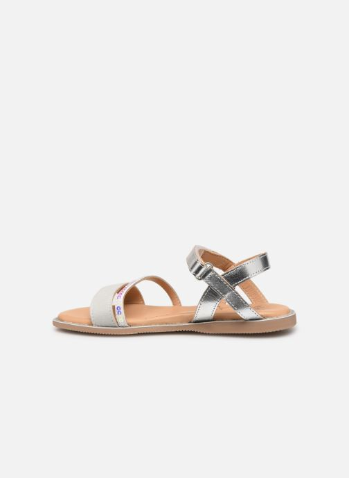 Sandals Little Mary Doleron Silver front view