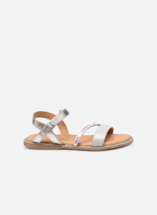 Sandales et nu-pieds Little Mary Doleron Argent vue derrière