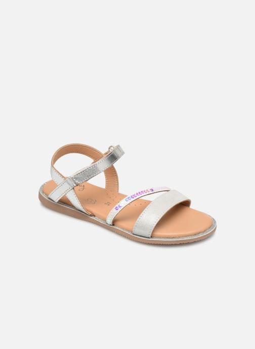 Sandals Little Mary Doleron Silver detailed view/ Pair view