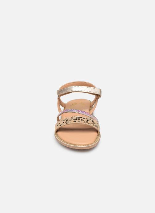 Sandales et nu-pieds Little Mary Doleron Or et bronze vue portées chaussures