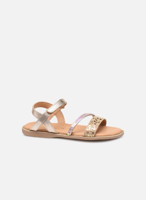 Sandales et nu-pieds Little Mary Doleron Or et bronze vue derrière