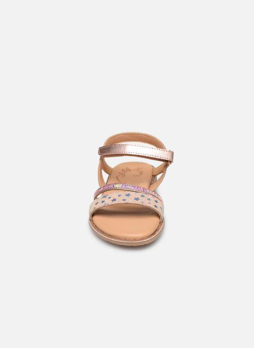 Sandales et nu-pieds Little Mary Doleron Rose vue portées chaussures