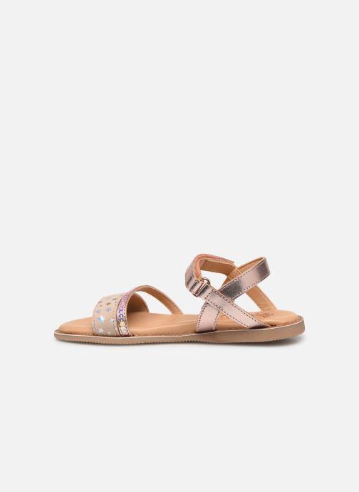 Sandales et nu-pieds Little Mary Doleron Rose vue face