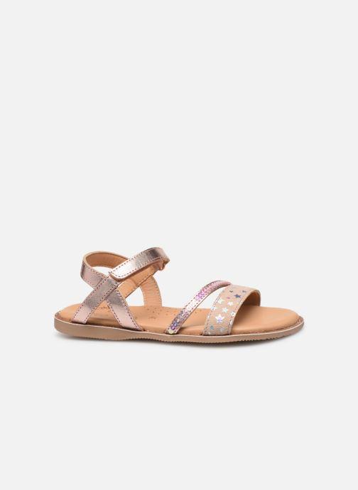 Sandales et nu-pieds Little Mary Doleron Rose vue derrière