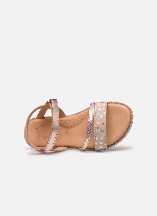 Sandales et nu-pieds Little Mary Doleron Rose vue gauche