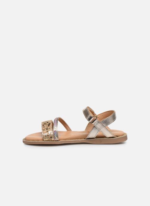 Sandali e scarpe aperte Little Mary Doleron Oro e bronzo immagine frontale