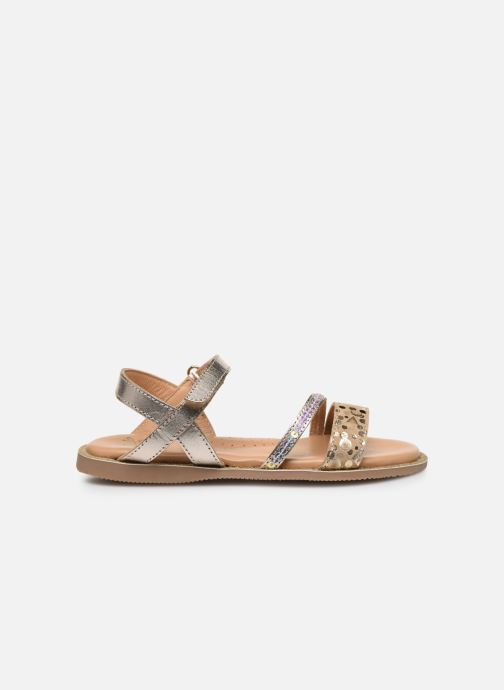 Sandali e scarpe aperte Little Mary Doleron Oro e bronzo immagine posteriore