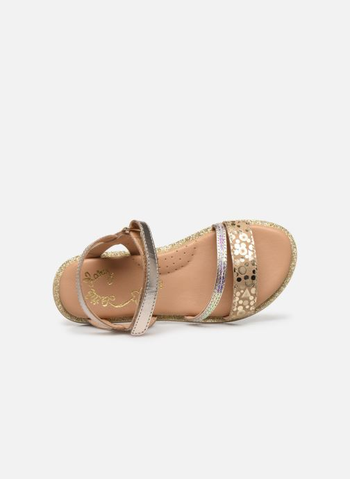 Sandali e scarpe aperte Little Mary Doleron Oro e bronzo immagine sinistra