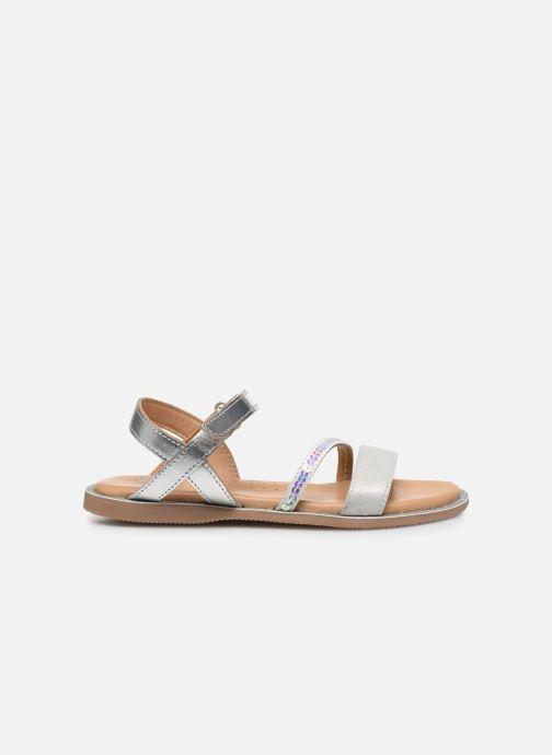 Sandali e scarpe aperte Little Mary Doleron Argento immagine posteriore
