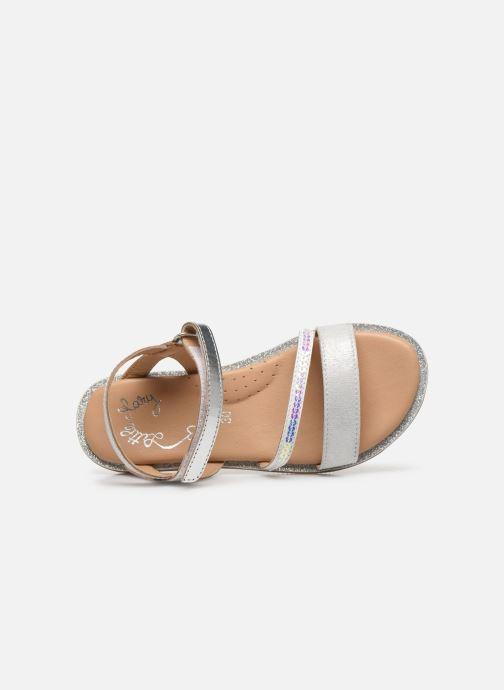 Sandales et nu-pieds Little Mary Doleron Argent vue gauche