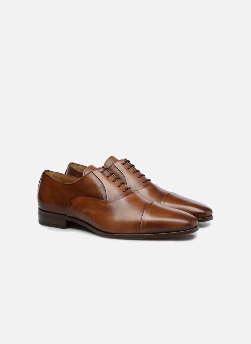 Chaussures à lacets Marvin&Co Luxe Pastagna - Cousu Blake Marron vue 3/4