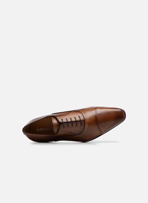 Chaussures à lacets Marvin&Co Luxe Pastagna - Cousu Blake Marron vue gauche