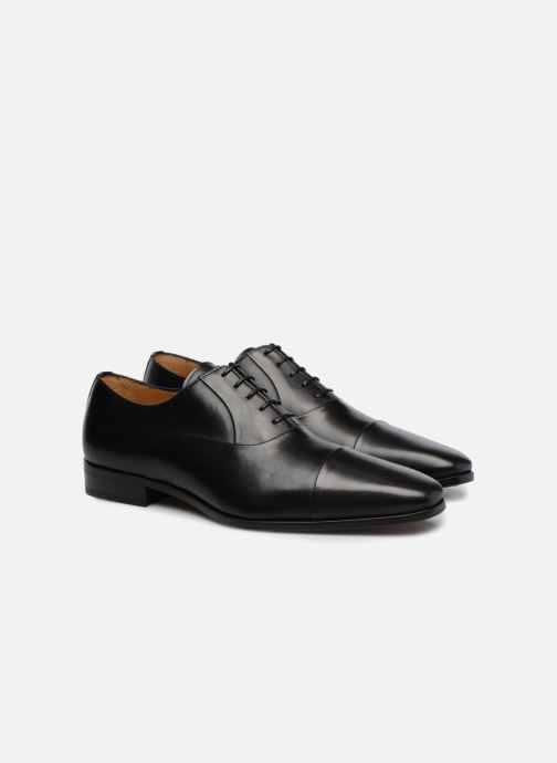 Lace-up shoes Marvin&Co Luxe Pastagna - Cousu Blake Black 3/4 view