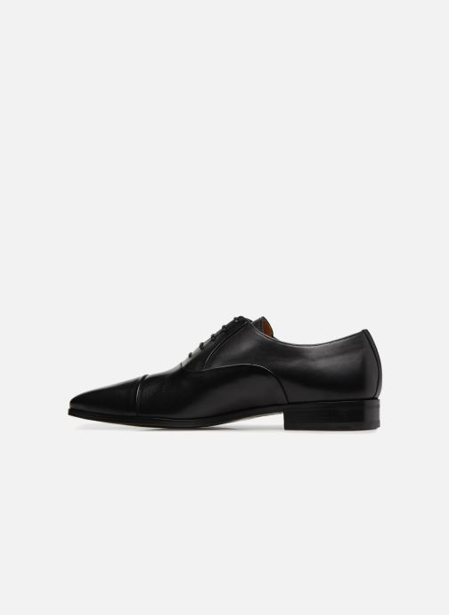 Lace-up shoes Marvin&Co Luxe Pastagna - Cousu Blake Black front view